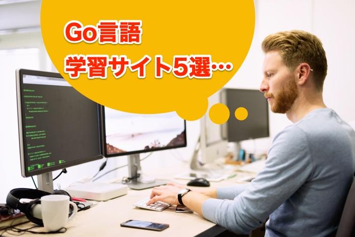 【Go言語入門】Go言語を初めて学ぶ人がチェックしたい学習サイト5選