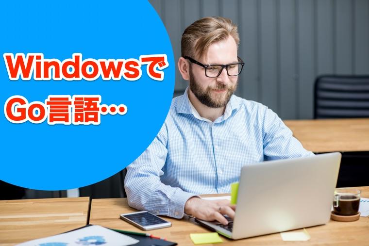 Go言語の開発環境をWindowsで構築する方法まとめ